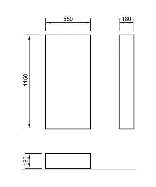 Technical drawing 46883 / FLWCFCWG