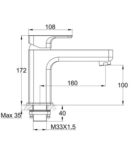 Technical drawing 46884 / FLMBF