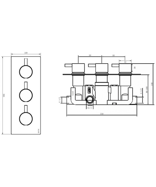 Technical drawing 46890 / 6003