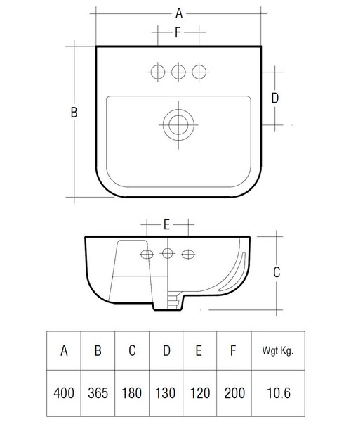 Technical drawing 47209 / S60040BAS1