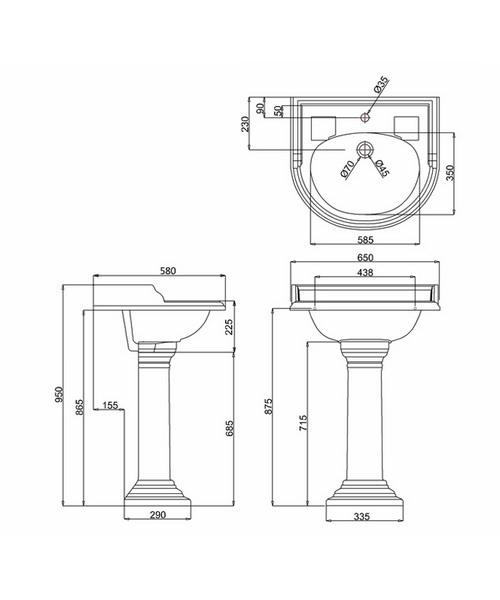 Technical drawing 48004 / B17D
