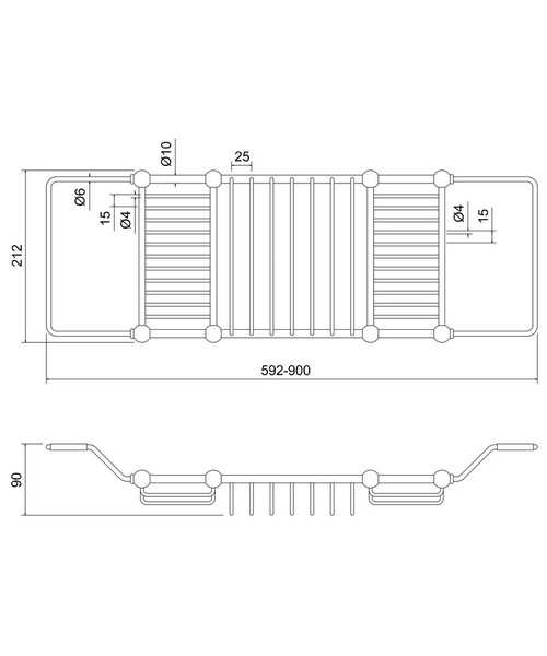 Technical drawing 48030 / A27 CHR