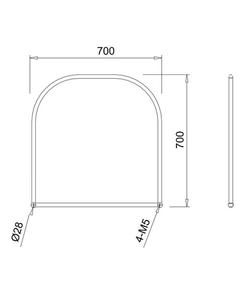 Technical drawing 48033 / A38