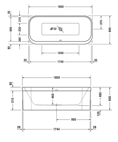 Technical drawing 4809 / 760319000JS1000