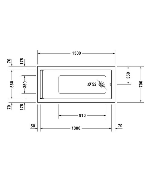 Technical drawing 4814 / 700342000000000