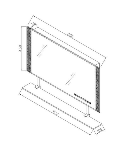 Technical drawing 48174 / RAKREFJG083-1