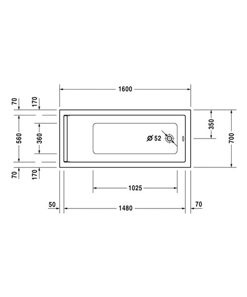 Technical drawing 4822 / 700344000000000
