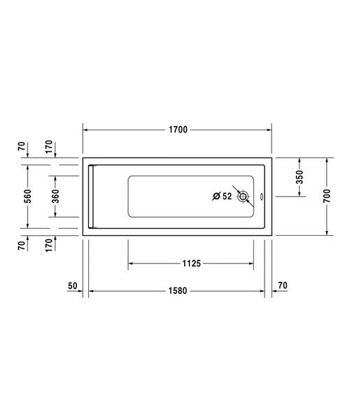 Technical drawing 4826 / 700345000000000