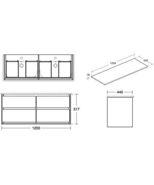 Technical drawing 48528 / E0822B2