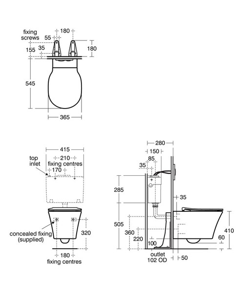 Technical drawing 48534 / E079601