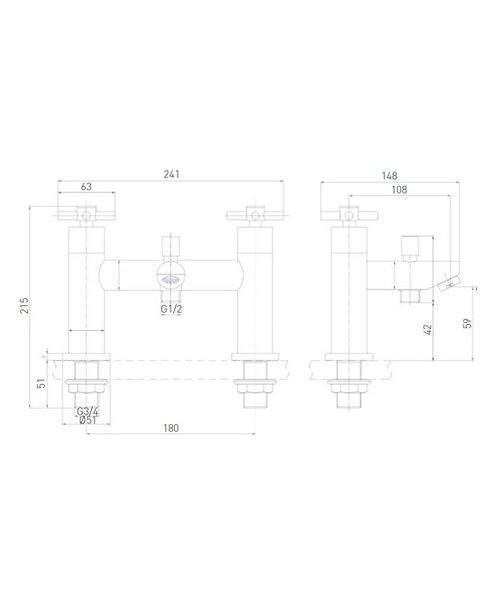 Technical drawing 4889 / DX BSM C