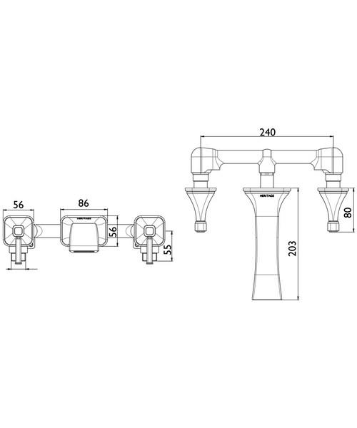 Technical drawing 49062 / TSBC11