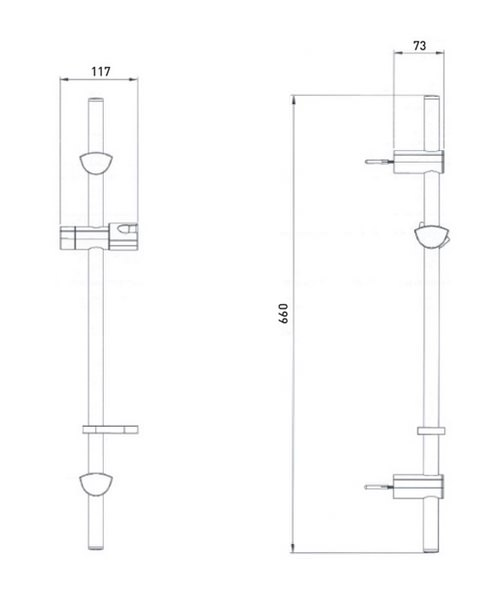 Technical drawing 4911 / EVC ADR01 WC