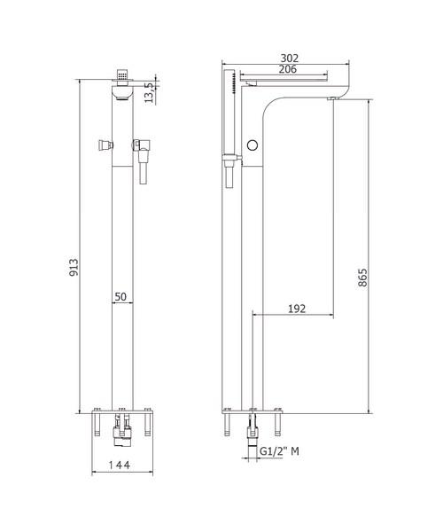 Technical drawing 49139 / KH02_415FC