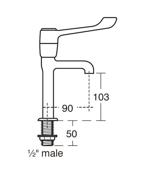 Technical drawing 49290 / S8265AA
