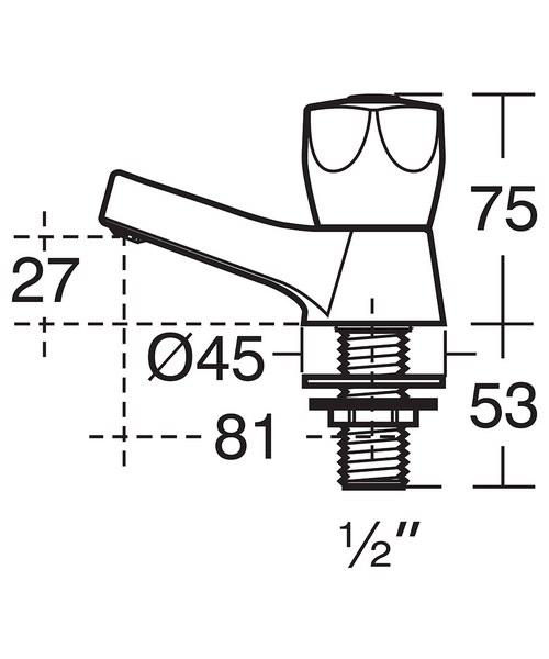 Technical drawing 49297 / B9865AA
