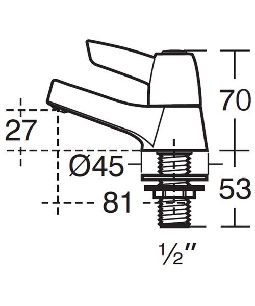Technical drawing 49311 / B9881AA
