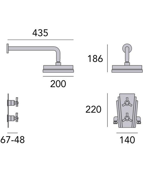 Technical drawing 49443 / SGRDDUAL02