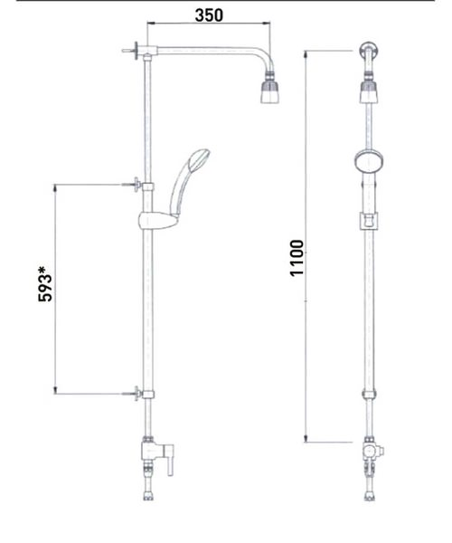 Technical drawing 4981 / DOCM-KIT
