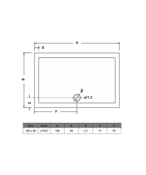 Technical drawing 50059 / LP067