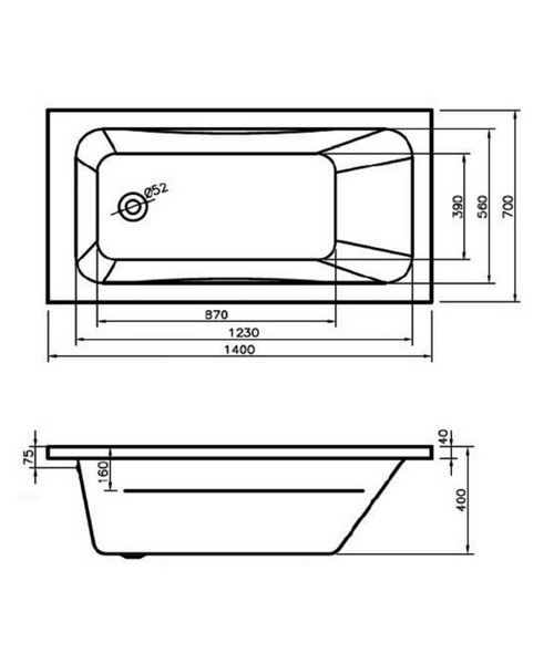 Technical drawing 50081 / BH061S1