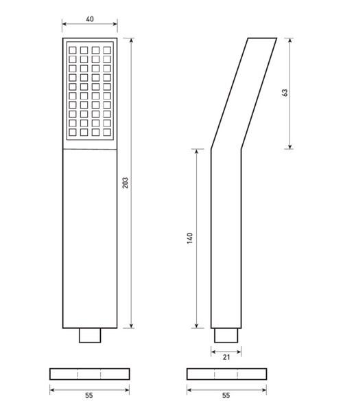 Technical drawing 50193 / SH027