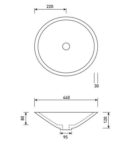 Technical drawing 50329 / VB034