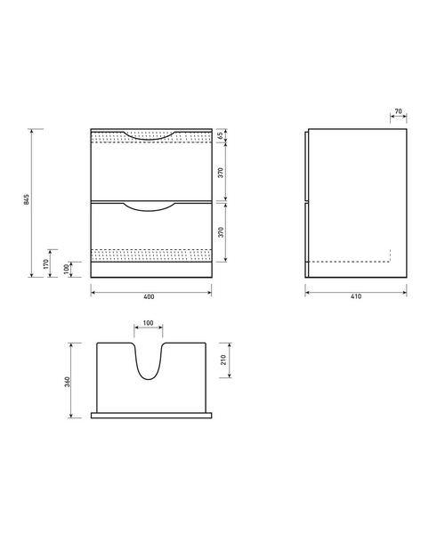 Technical drawing 50350 / FU040