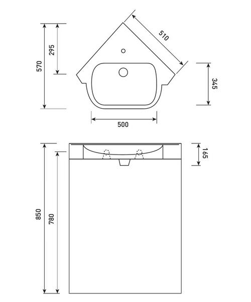 Technical drawing 50378 / FU077