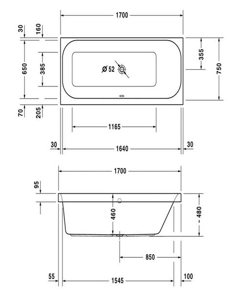 Technical drawing 50457 / 760313000JS1000