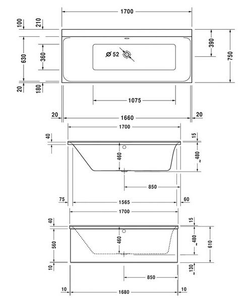 Technical drawing 50462 / 760375000JS1000