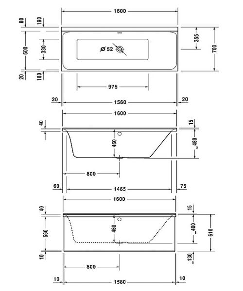 Technical drawing 50463 / 760372000JS1000
