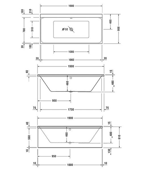 Technical drawing 50467 / 760378000JS1000