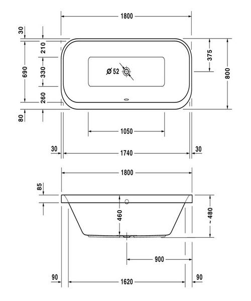 Technical drawing 50473 / 760320000JS1000