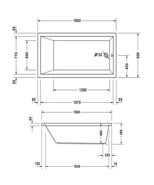 Technical drawing 50495 / 760050000JS1000