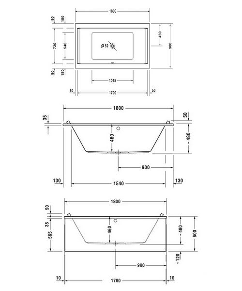 Technical drawing 50505 / 760339000JS1000