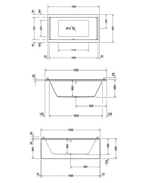 Technical drawing 50506 / 760340000JS1000