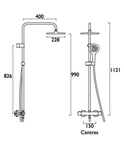 Technical drawing 51192 / CLR SHXDIVFF C