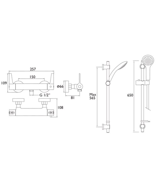 Technical drawing 51227 / DUL2 SHXARFF C