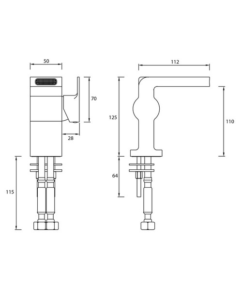 Technical drawing 51234 / EXD BAS C