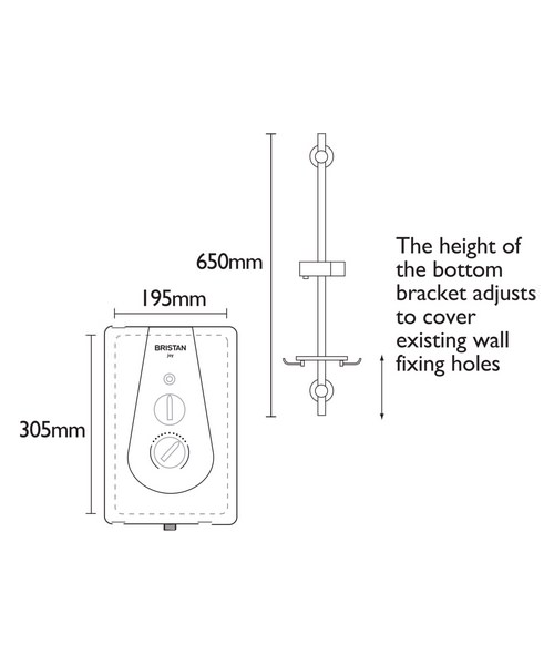 Technical drawing 51292 / JOYT395 W