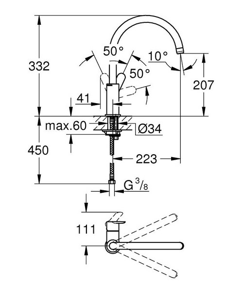 Technical drawing 51345 / 31367000