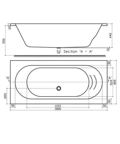 Technical drawing 52028 / EB510