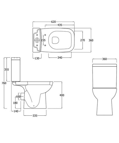 Technical drawing 52058 / EC6005