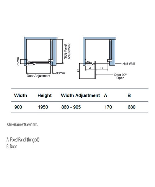 Technical drawing 5209 / LIEL900