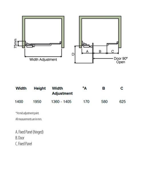 Technical drawing 5212 / LIEC1400