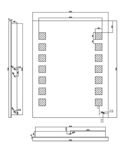 Technical drawing 5260 / LQ041