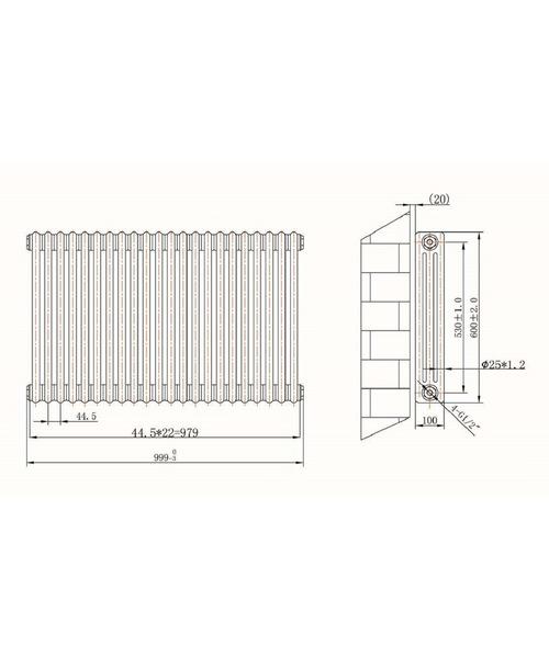 Technical drawing 53001 / RA132