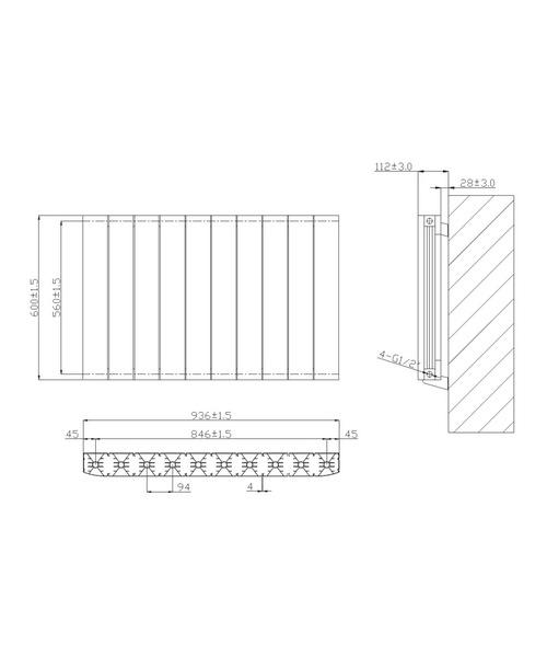 Technical drawing 53050 / RA232