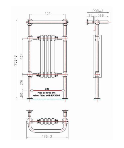 Technical drawing 53054 / RA111
